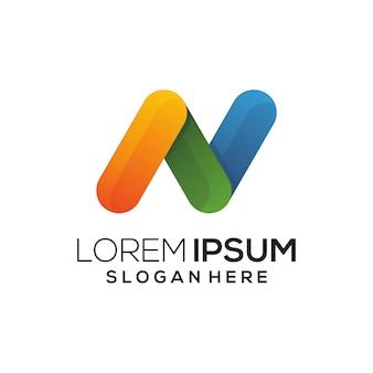 Icona del logo colorata