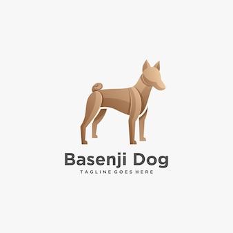 Logo illustration dog pose