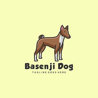 Logo illustration dogs pose