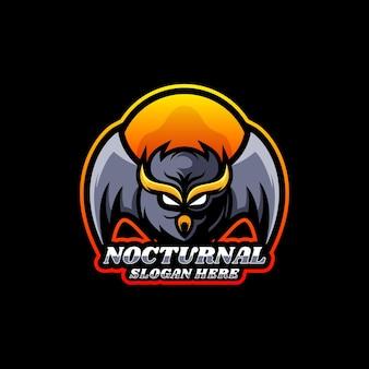Logo owl e sport e sport style