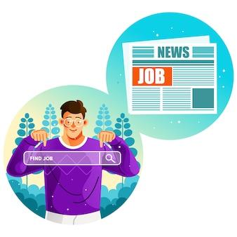 In cerca di offerte di lavoro