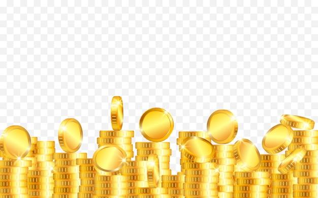 Lotto di monete d'oro