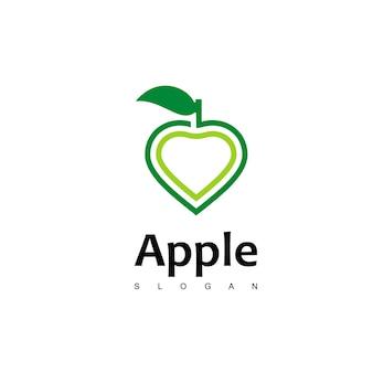 Amo il logo della mela