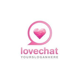 Logo della love chat company