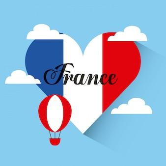 Amore francia viaggio nel cuore