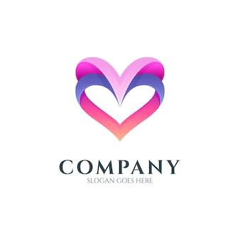 Logo sfumato amore o cuore