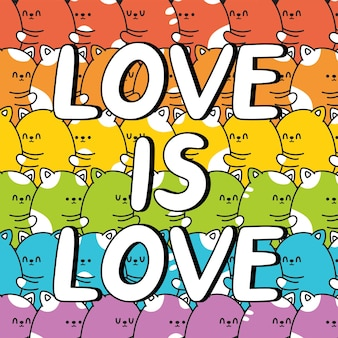 L'amore è amore citazione slogan
