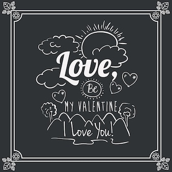 Amore design dei messaggi