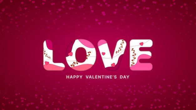 Amore sfondo san valentino