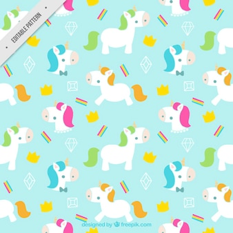 Lovely little modello unicorni
