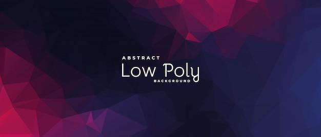 Lowpoly triangolare geometrico poligonale cool astratto