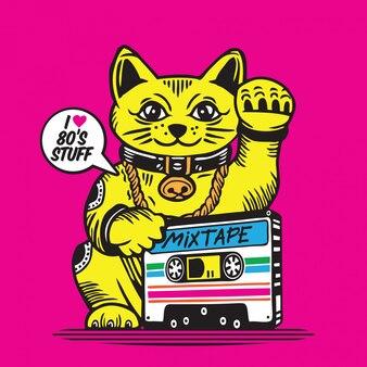 Maneki neko, nastro portafortuna per gatti