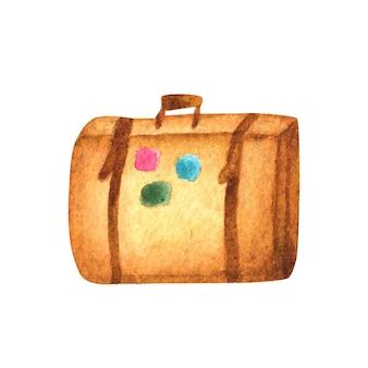 Acquerello bagagli