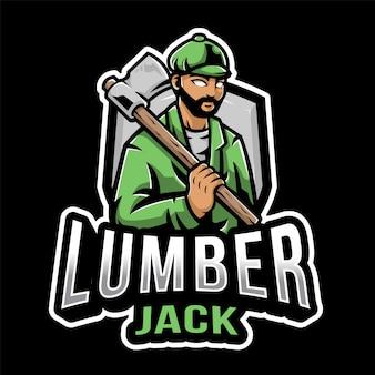 Lumberjack esport logo