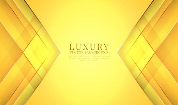 Sfondo astratto di lusso con stile geometrico