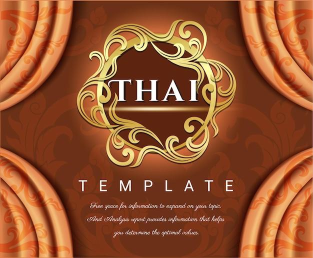 Tende di lusso, concetto tradizionale thailandese the arts of thailan.