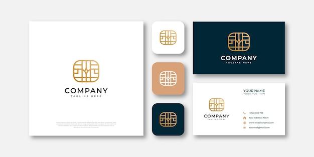 Design del logo di mobili di lusso