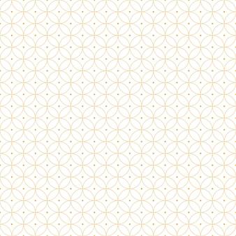 Carta da parati senza cuciture geometrica di lusso del fondo del modello nello stile del batik