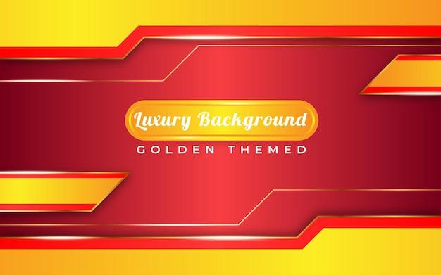 Sfondo giallo dorato di lusso