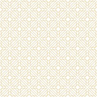 Carta da parati senza cuciture geometrica islamica di lusso del modello nello stile del batik