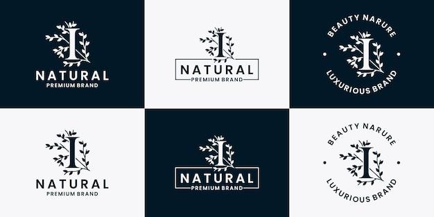 Collezione di design di loghi di lusso per il branding, l'identità aziendale