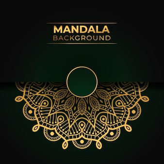 Design islamico mandala di lusso