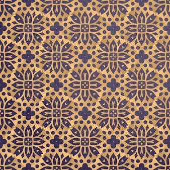 Sfondo ornamentale di lusso in colore oro