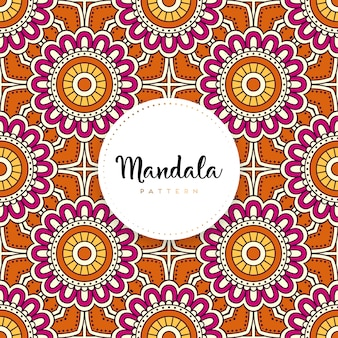 Mandala ornamentale di lusso design sfondo