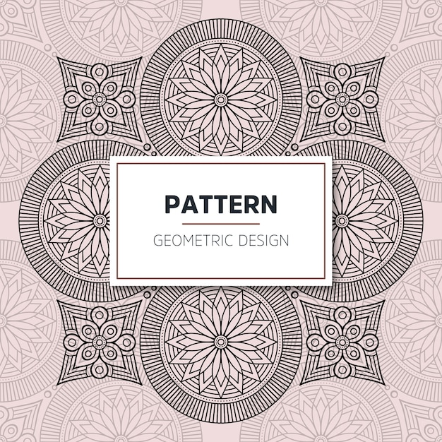 Design mandala ornamentale di lusso
