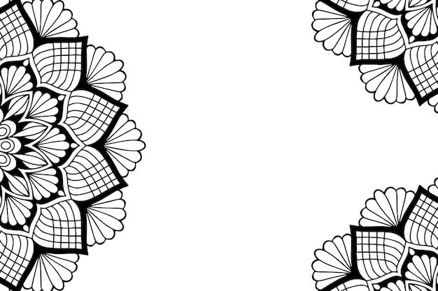 Design mandala ornamentale di lusso.