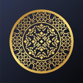 Fondo di struttura del modello ornamentale di lusso