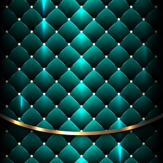 Backround blu lucido di lusso