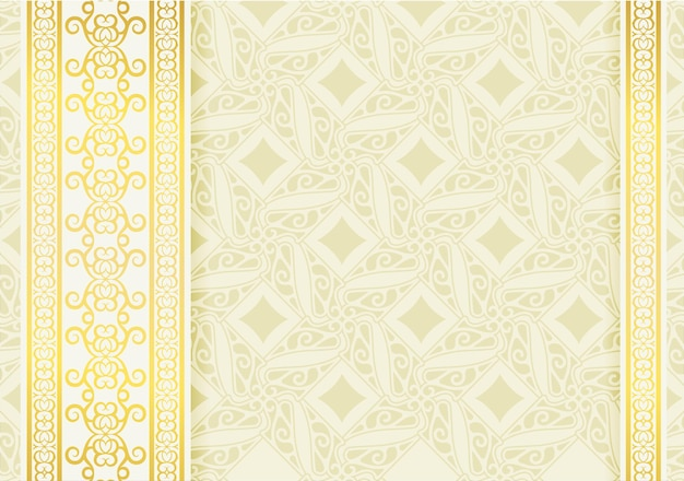 Fondo bianco di lusso del bordo di turbinio di calligrafia