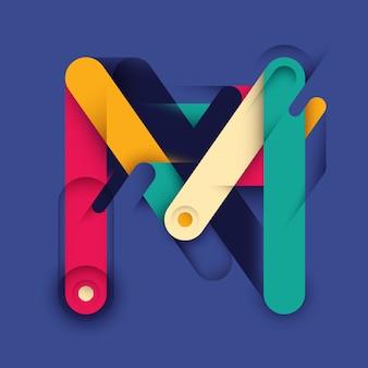 Design lettera m