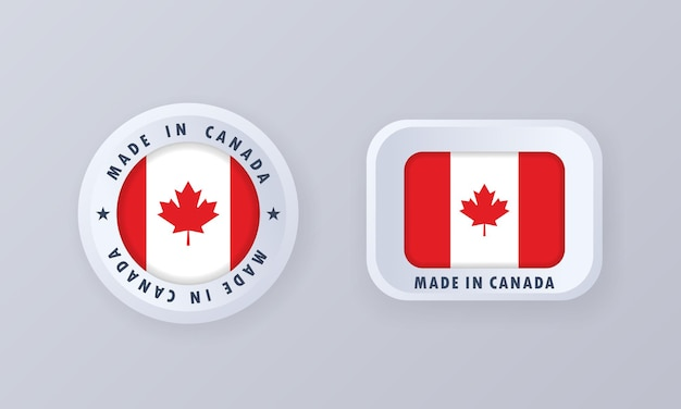 Made in canada illustrazione
