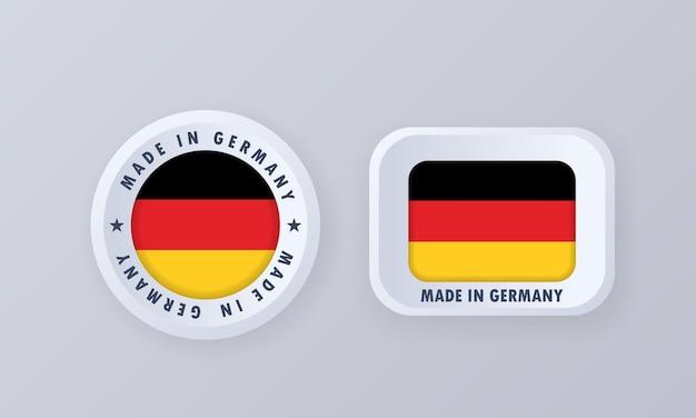 Made in germany illustrazione