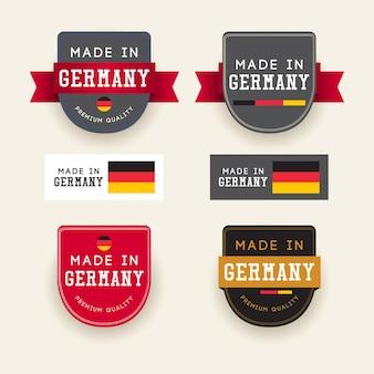 Realizzato in modello germania