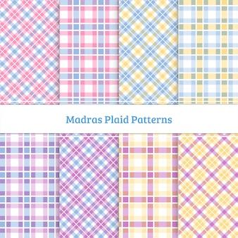 Madras plaid pattern