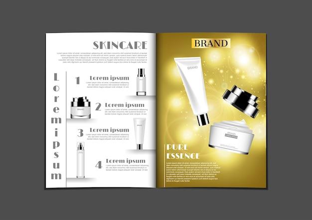 Design di riviste o brochure