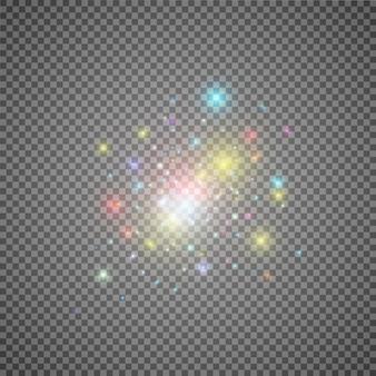 Portale magico di fantasia. teletrasporto futuristico. effetto luce.