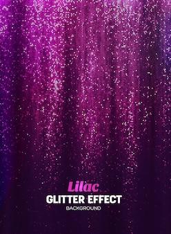 Sfondo magico glitter in colore lilla