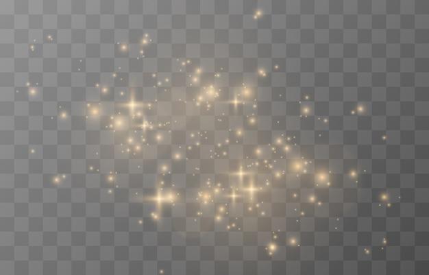 Bagliore magico luce scintillante scintilla scintilla polvere scintillante png polvere magica scintillante luce natalizia