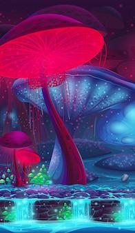 Magic mushroom hollow