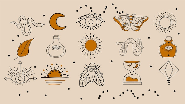Set di simboli magici