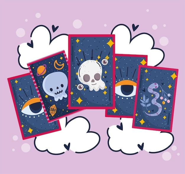 Divinazione dei tarocchi magici
