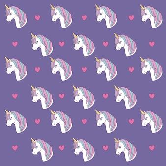 Design di unicorni magici