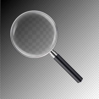 Icona dello strumento illustrazione lente di ingrandimento