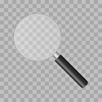 Illustrazione della lente d'ingrandimento