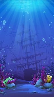 Illustrazione del mondo dei pesci mahjong