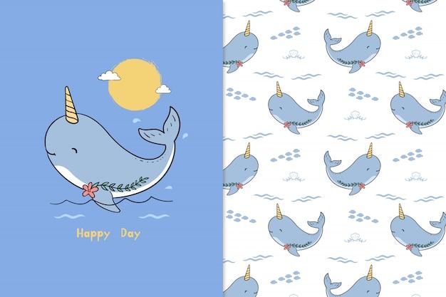 Esprimere un modello di balena di desiderio